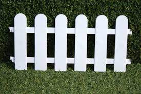 Plastic Fencing Lawn Grass Border Path Grave Edging Fancy Small Picket Flexible Ebay