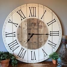 rustic wall clocks farmhouse wall clocks