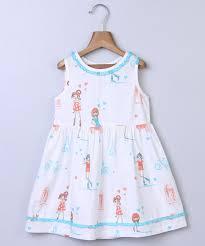 white dresses frocks for infants