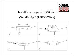 ĐÈN LED SAMSUNG PANEL ỐP TRẦN TRÒN 18W DUHAL - SDGC518