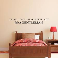 Do It Like A Gentleman Wall Quotes Decal Wallquotes Com