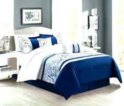 navy blue and gold comforter sets