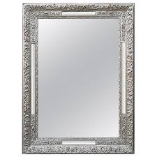 1stdibs wall mirror antique silver