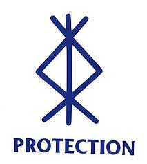 Viking Protection Rune Vinyl Decal Norse Bumper Sticker For Laptops Or Car Windows Great Scandinavian Or Icelandic Heritage Gift Wickedgoodz