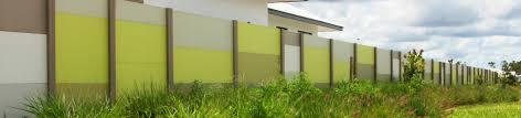 Acoustic Walls Commercial Fencing Belaire Designer Fencing Nz