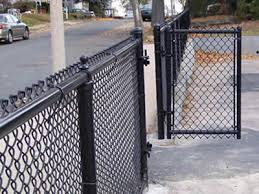 Black Coated Vinyl Chain Link Fence Installation Steps And Tips