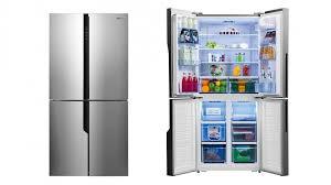french door fridge stainless steel