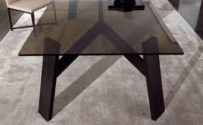 elegant dark wooden table clark by