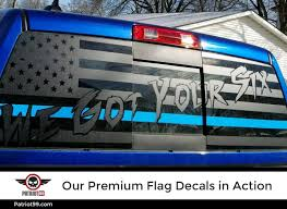 Premium American Flag Rear Window Decals Patriot99
