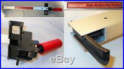 Craftsman Quick Lock Cam Action Rip Fence Assembly 137 Series Table Saw 14915401 Table Saw Fence