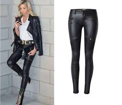 2020 nova stly faux leather pants