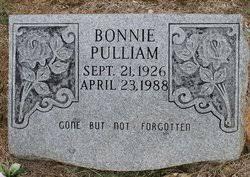 Bonnie Cleo West Pulliam (1926-1988) - Find A Grave Memorial
