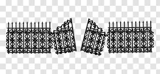 Picket Fence Gate Clip Art Emoticon Transparent Png