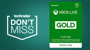 xbox live gold for 1 will be your
