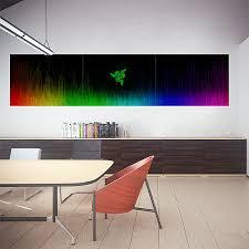 Razer Chroma Block Giant Wall Art Poster