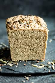 wholewheat multi seeded spelt loaf