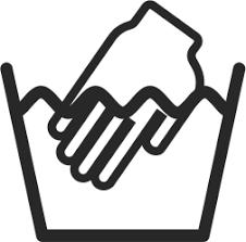 lavar a mao - One Off Confecções