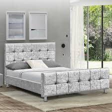 elicia upholstered bed frame