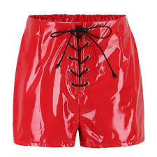 women y leather shorts malickstyle