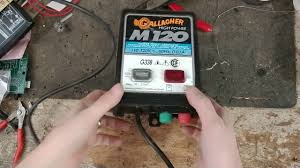 Gallagher M120 Electric Fencer Repair Youtube