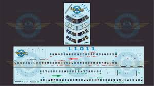 Cockpit And Cabin Windows Tristar Authentic Airliner Decals