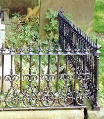 Victorian Wrought Iron Cast Iron Fence Iron Fence Wrought Iron Fences