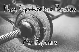 home gym workout routines for beginners