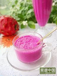 火龙果奶昔怎么做好吃,火龙果奶昔的做法详细步骤,做火龙果奶昔的家常 ...