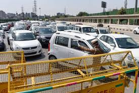 Huge traffic jams at Delhi borders despite lockdown - Daily World