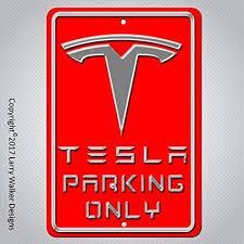Tesla Logo Wall Decal Vinyl Sticker Luxury Car Garage Art Decor Many Colors L345 Dom I Meble A2btravel Ge