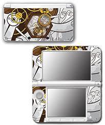 Art Abstract Steampunk Gear Machine Video Game Vinyl Decal Skin Sticker Cover For Original Nintendo 3ds Xl System Steampunkweb