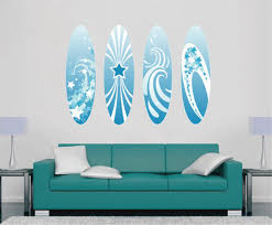 Cik1511 Full Color Wall Decal Board Surfing Hall Bedroom Sports Shop Stickersforlife