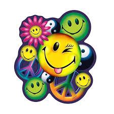 Peace Love Happiness Hippie 3 Pack Of Vinyl Decal Stickers 5 Walmart Com Walmart Com