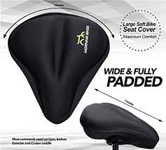 large bike seat cushion cover