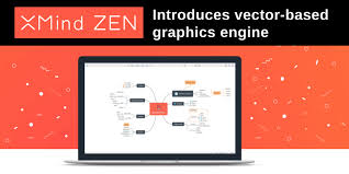 New Xmind ZEN mind mapping program debuts vector-based graphics engine