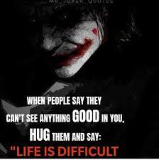 joker quote in hindi