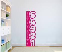 Cute Measuring Post 5ft Tall Vinyl Decal For Kids Playrooms Etc L Azvinylworks