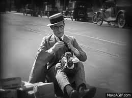 Hot Water (1924): Harold Lloyd versus the Turkey on Make a GIF