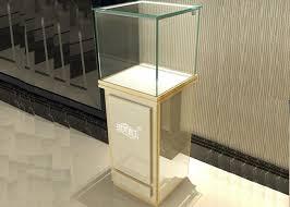 modern jewelry glass display cabinet