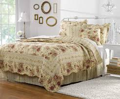 Amazon.com: Greenland Home Antique Rose Quilt Set, 5-Piece King/Cal King,  Multi: Home & Kitchen