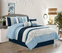 7 pcs oversize comforter set bedding