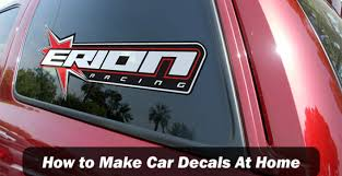 How To Make Car Decals At Home Step By Step Guide