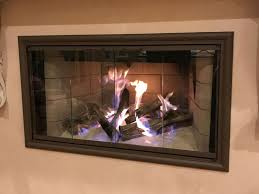 fireplace glass doors and fire screens