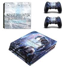 Monster Hunter World Iceborne Ps4 Pro Skin Sticker For Playstation 4 Console And Controller Decal Ps4 Pro Skin Sticker Vinyl In 2020 Monster Hunter Ps4 Monster Hunter World Monster Hunter