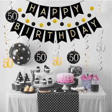 50th Birthday Party Ideas for Him
