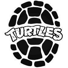 Teenage Mutant Ninja Turtles Shell Vinyl Decal Sticker
