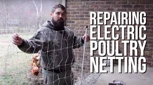 How To Repair A Premier1 Electric Poultry Net Youtube