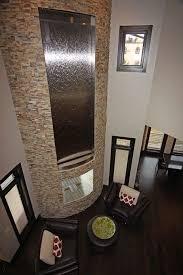 fireplace waterfall indoor waterfall