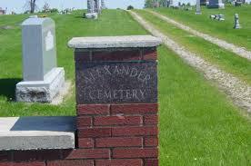 Alexander Cemetery - Franklin County, Iowa