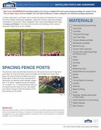Chain Link Fence Installation Tips Installing Posts And Lowe S